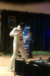 NICKY HART as ELVIS