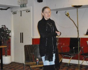 Jo Gregory at RFC (Photo: Garry Walker)